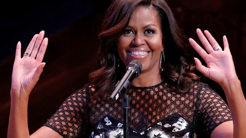 Hackers target Michelle Obama