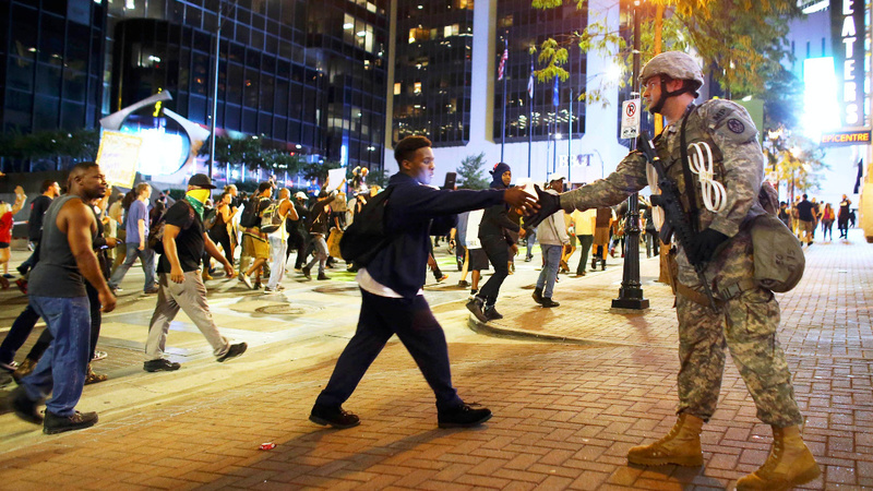 Charlotte sets curfew on third night of protests