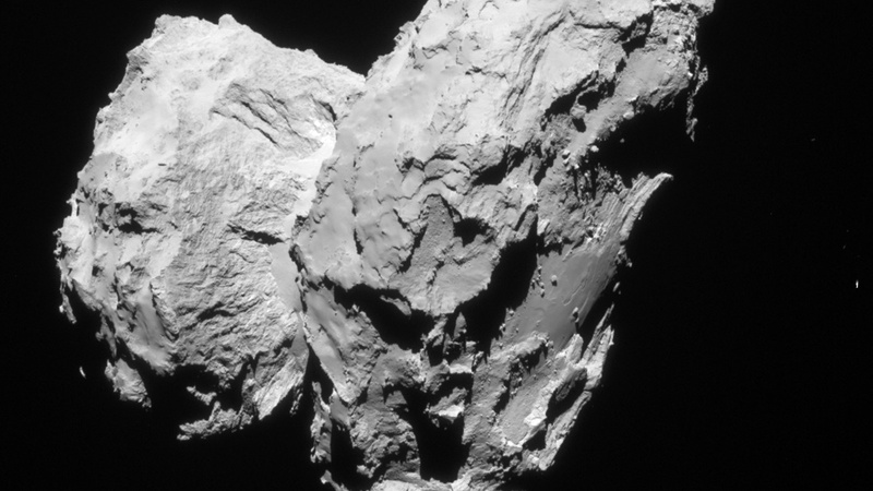 Rosetta space probe heads for comet crash