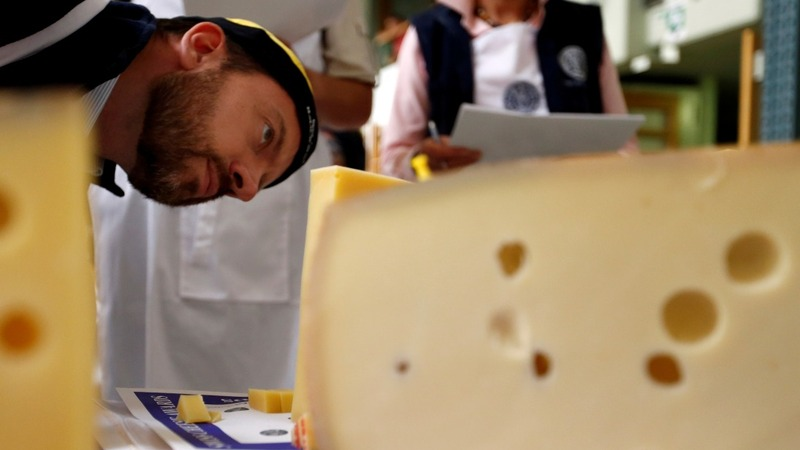 Cheesemongers aim for 1st at Swiss awards