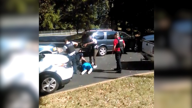 INSIGHT: cell footage of fatal police shooting