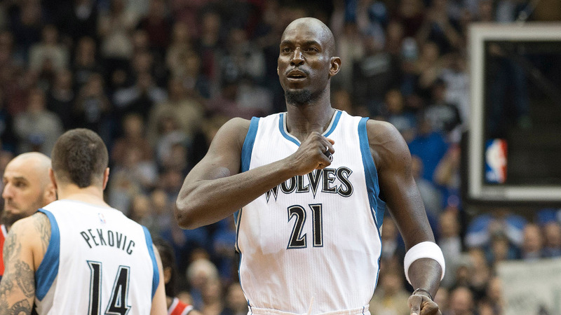 Kevin Garnett retires from the NBA