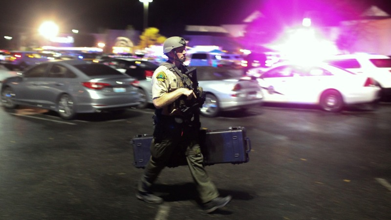 Police hunt gunman after deadly mall rampage