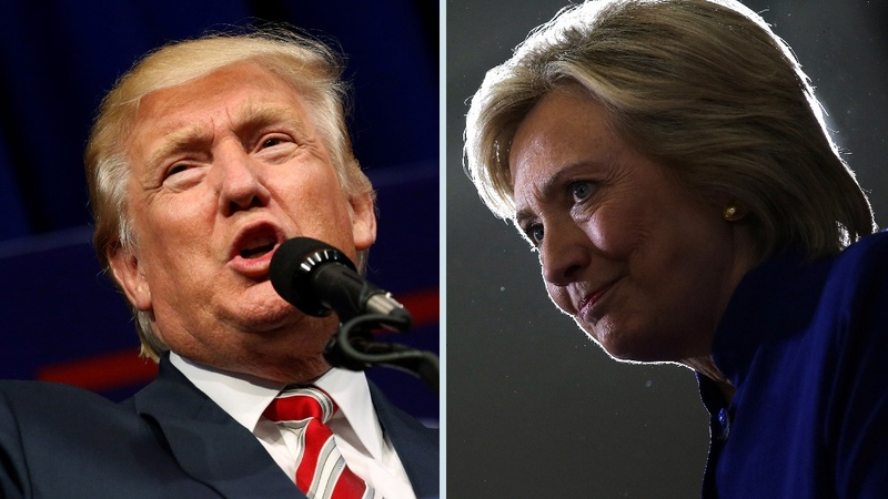 Clinton, Trump vie for elusive undecideds