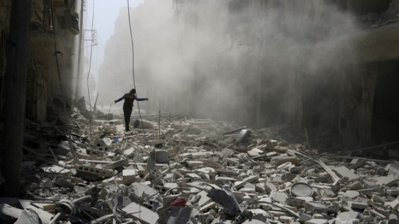 Russia, West trade barbs over Syria