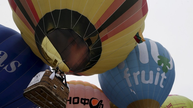 INSIGHT: Swiss duo float to victory in balloon race