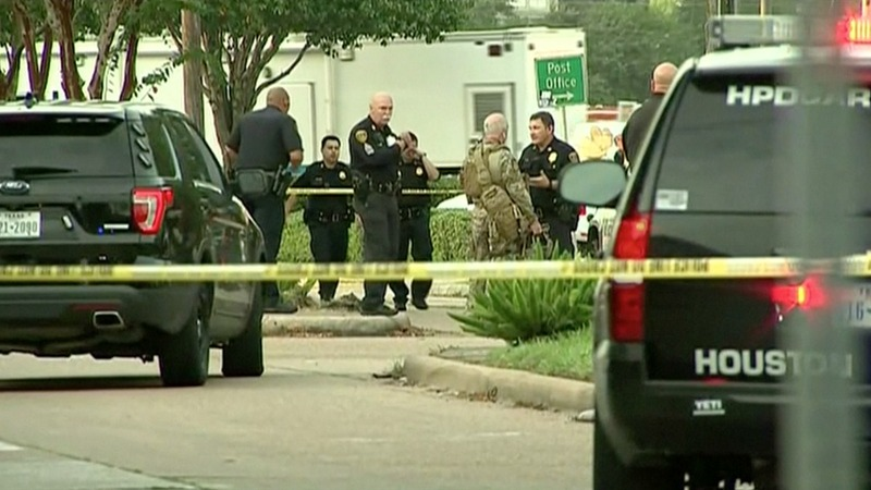 Houston shooter found with Nazi emblems