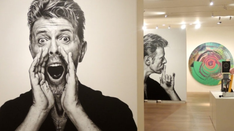 INSIGHT: Bowie's art stash hits auction
