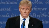 Debate reaction, Trump's sinuses take over Twitter
