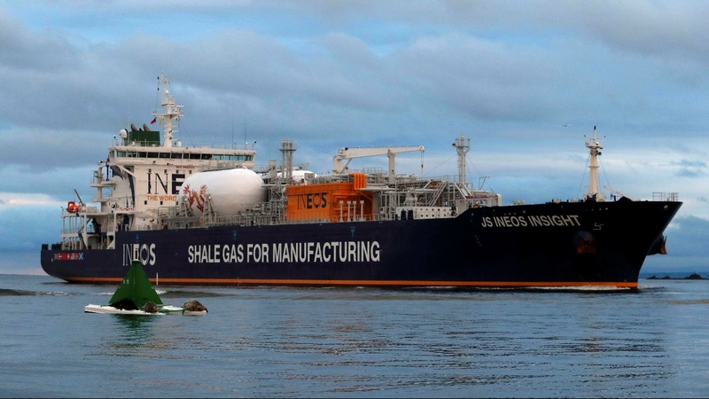 First US shale gas arrives in Scotland