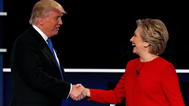 Clinton-Trump debate breaks ratings record