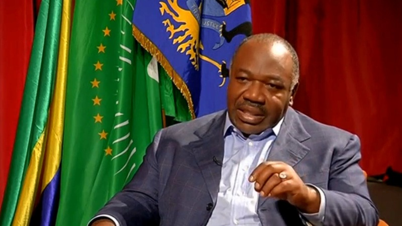 Gabon president sworn in after disputed vote