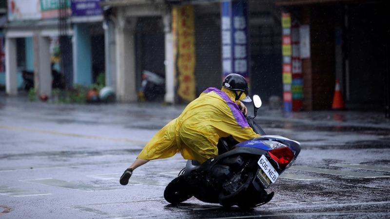 INSIGHT: Typhoon Megi tears through Taiwan