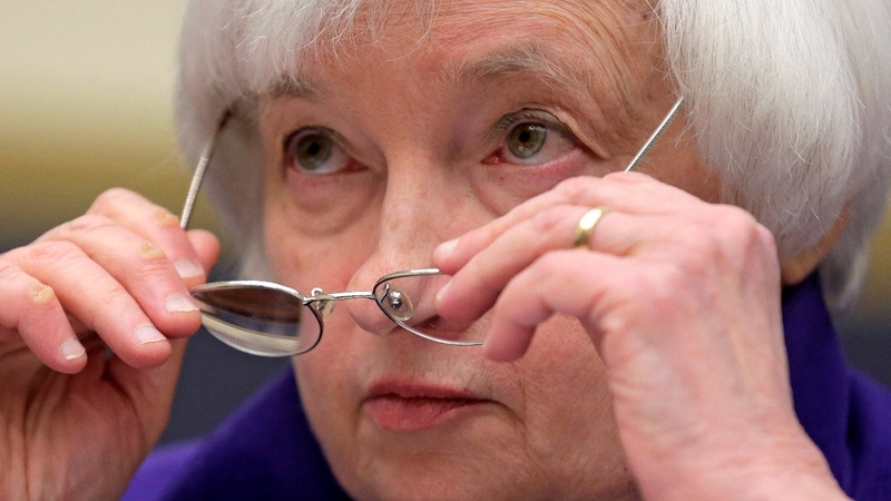 Trump, Wells Fargo dominate Yellen testimony