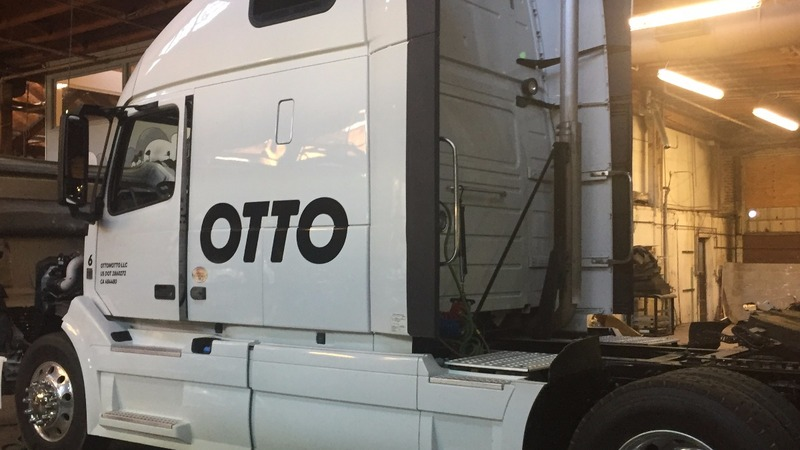 Uber takes the big rig for the long haul
