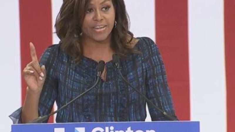 VERBATIM: Michelle blasts Trump over birther movement