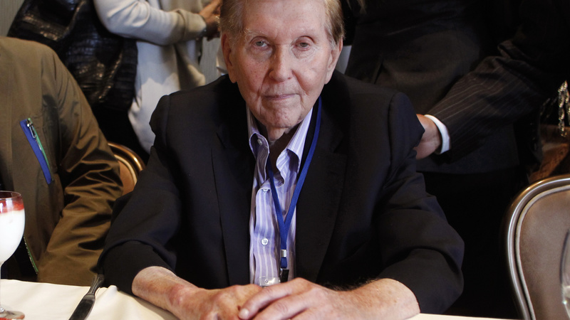 Redstone to push for CBS and Viacom to reunite