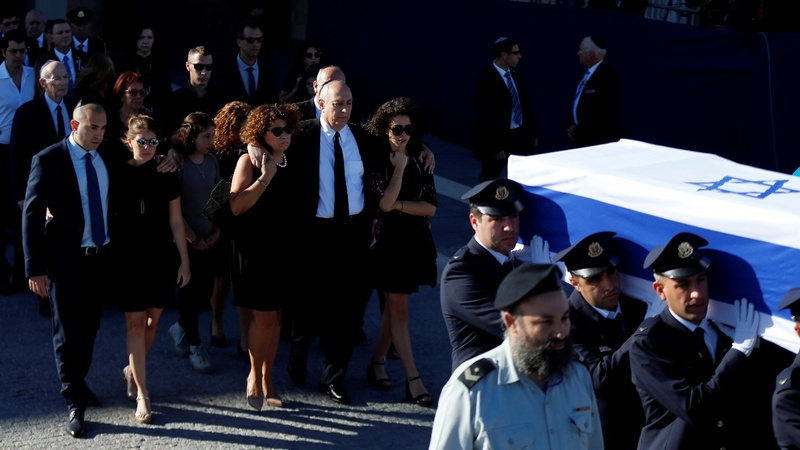 Global leaders mark Shimon Peres funeral