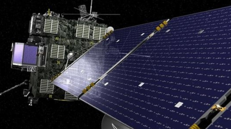 Rosetta comet probe goes out with a bang