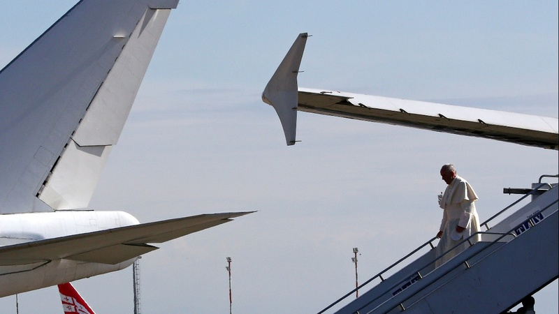 INSIGHT: Pope Francis touches down in Georgia