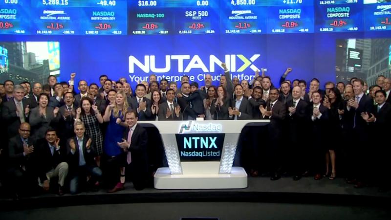 Nutanix IPO works magic on Wall Street