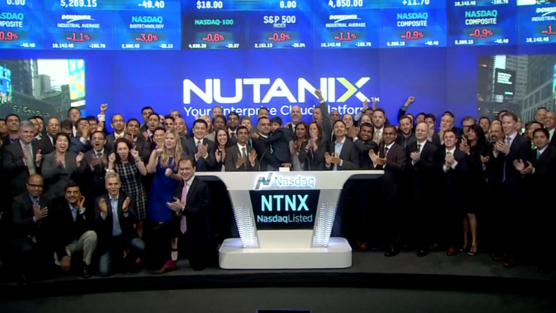 Nutanix IPO works magic on Wall Street