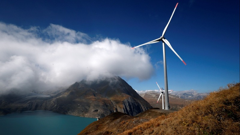 INSIGHT: Swiss open Europe's highest wind farm