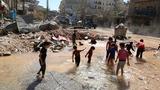 Jets pound Aleppo's rebel supply lines