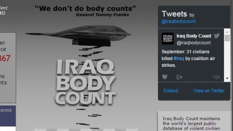 Iraq Body Count among Nobel contenders