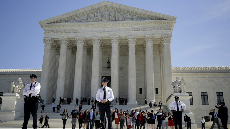 Election overshadows Supreme Court's new term