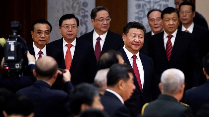China's Xi takes aim at Communist Party rivals