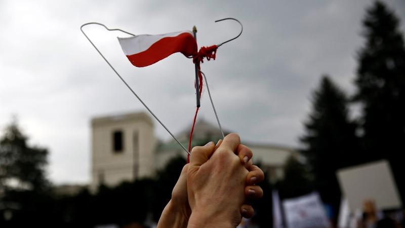 Black Monday: Poland's abortion ban protest