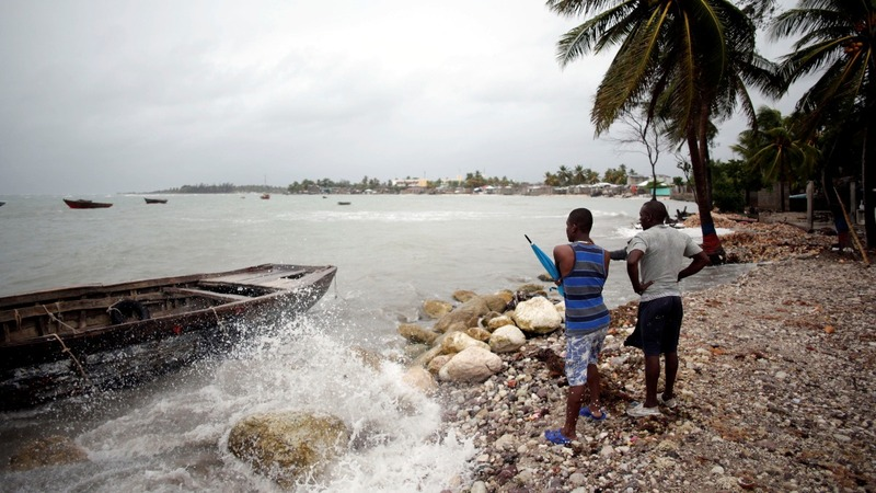 Hurricane Matthew threatens the Caribbean
