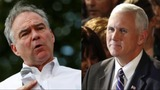 Pence, Kaine gear up for VP clash