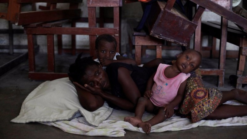 Haitians flee homes as Hurricane Matthew hits