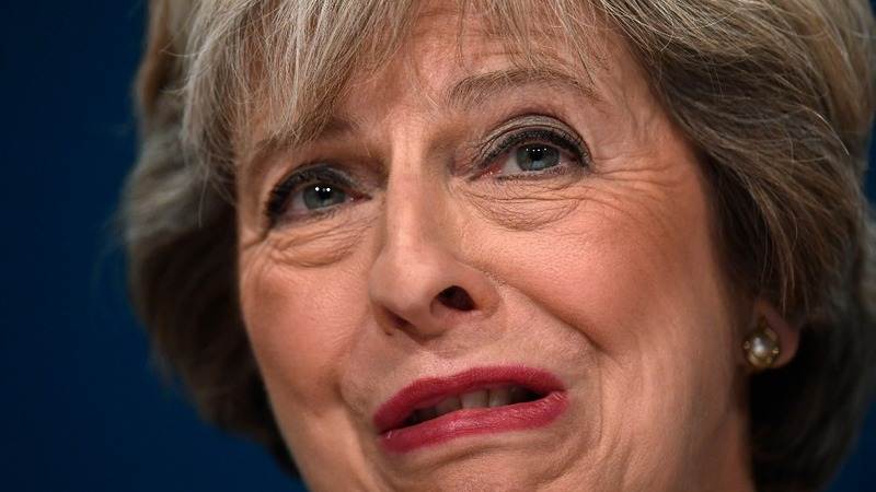 Tory conference wrestles with May's Brexit vision