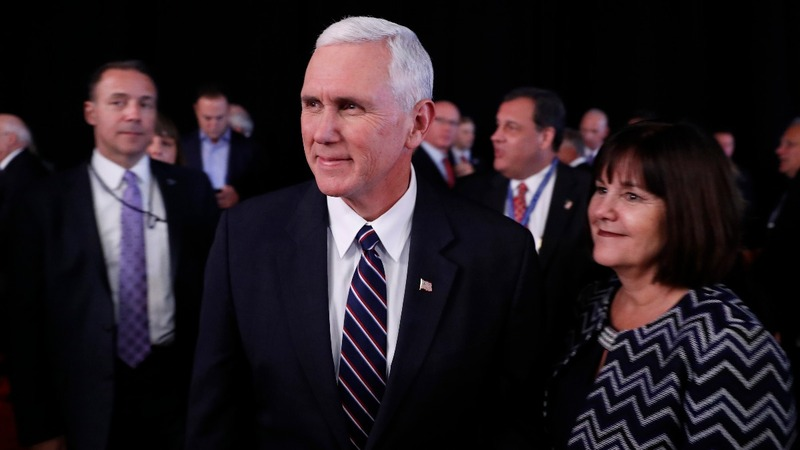 It's mop-and-bucket time for Mike Pence