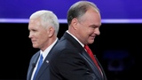 Pence gives Trump a boost in VP debate
