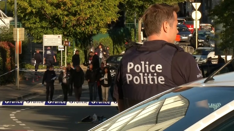 Belgium police stabbing possible terror attack