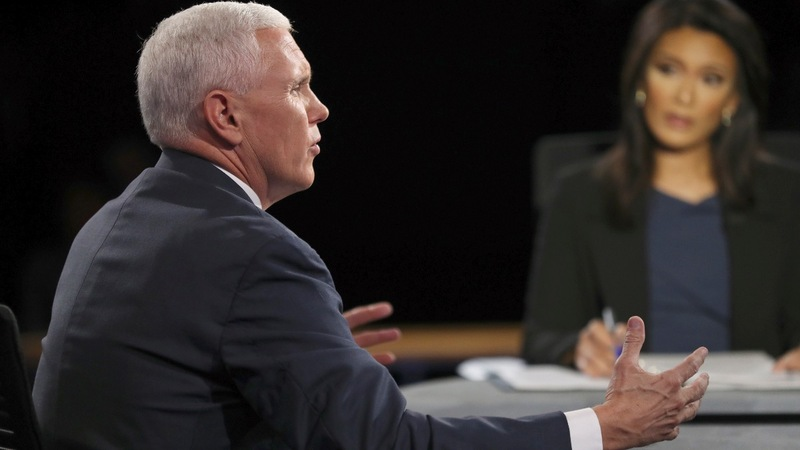 The Pence defense: Trump never said that