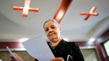 Georgians vote in test of country's stability