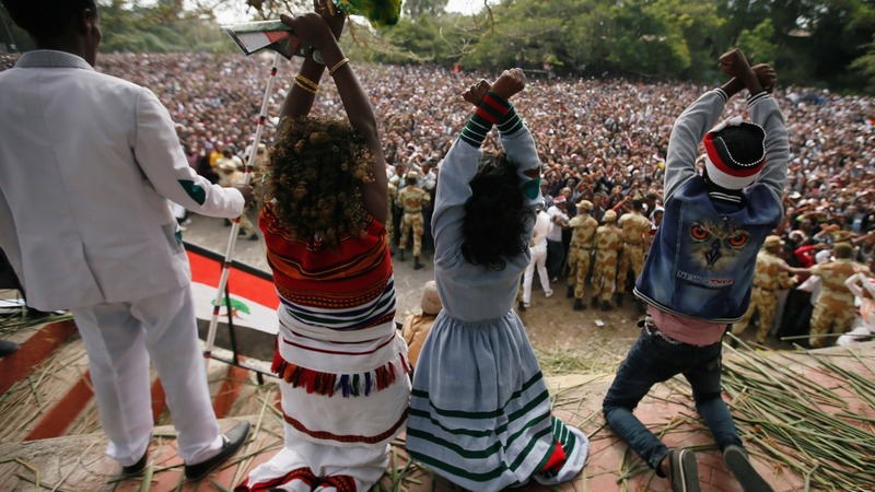 Ethiopia blames foreigners for stoking unrest
