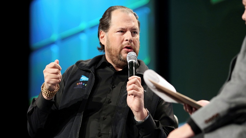 Salesforce still mulling Twitter bid: sources