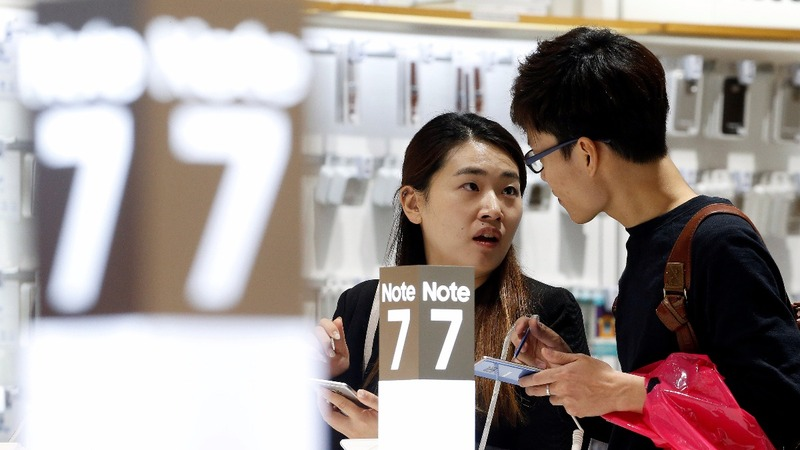 Don't sell or use Galaxy Note 7: Samsung