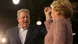 Gore hits campaign trail in a haunted state