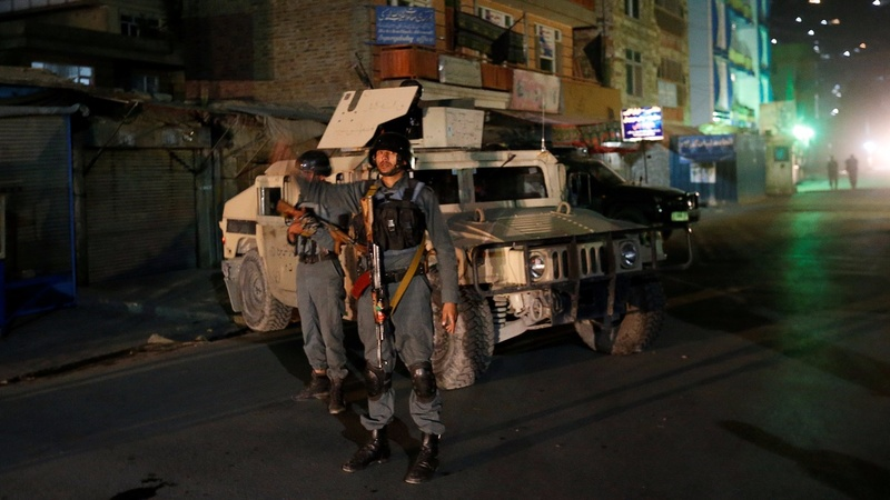 Gunman kills 14 in attack on Kabul shrine