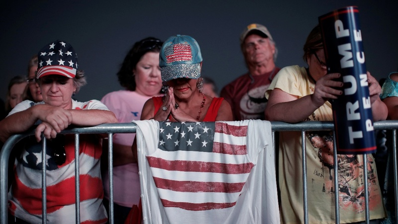 Trump voters say: 'Don't believe the polls!'