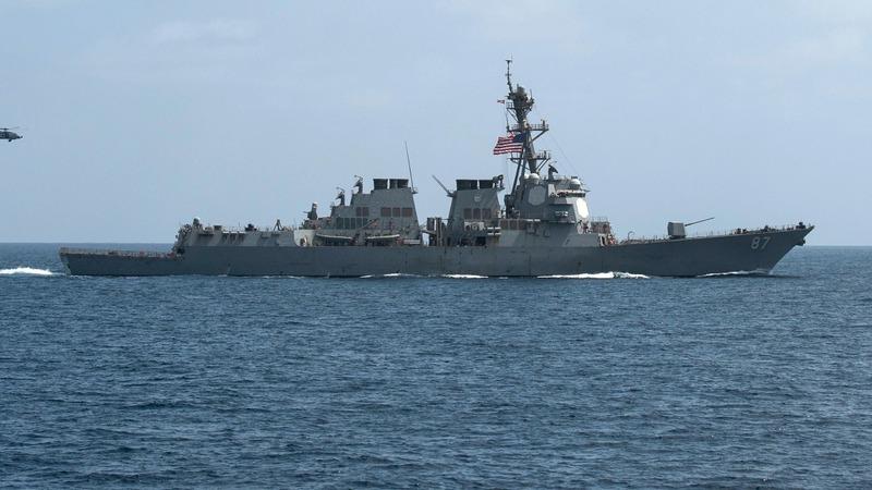 Yemen rebels fire on U.S. Navy ship
