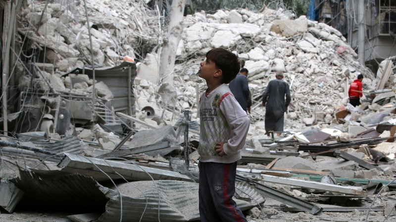 Assad: pushing 'terrorists' back to Turkey