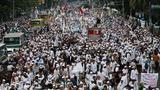 Hardline Muslims protest Jakarta's Christian governor